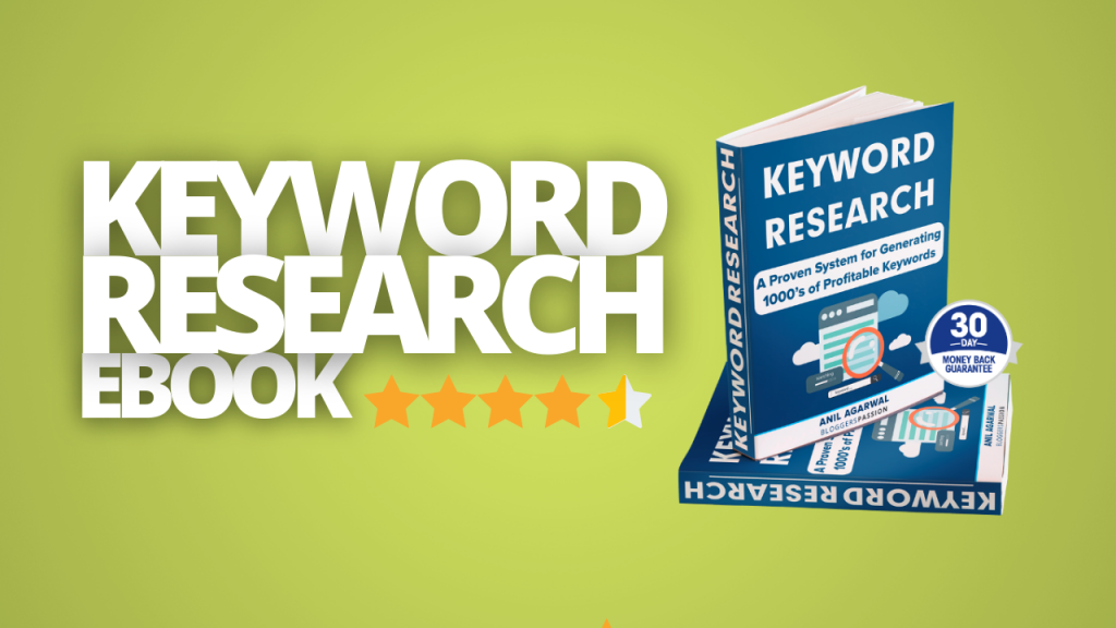 keyword research made easy by anil aggarwal