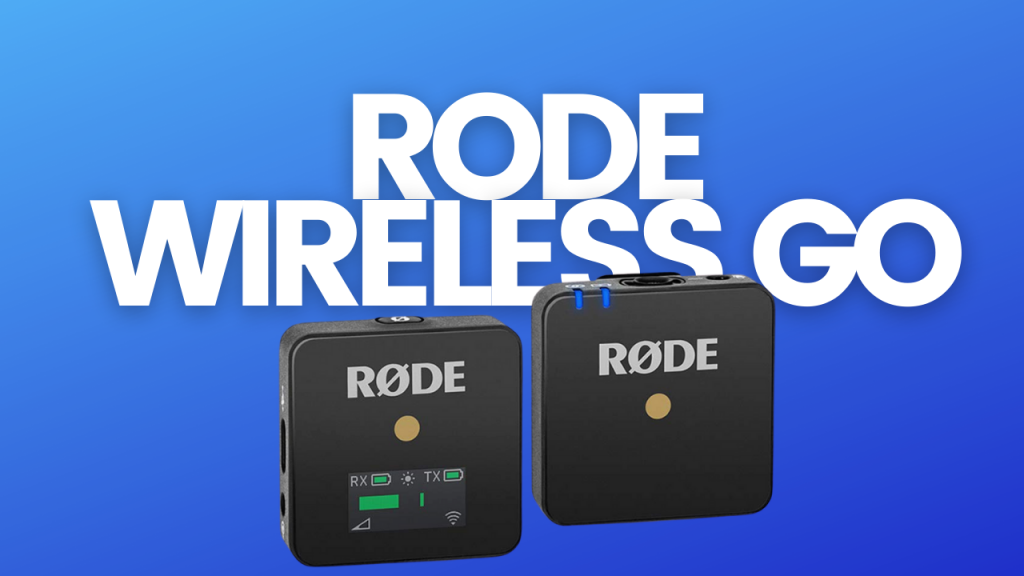 rode wireless go collar mic for youtube