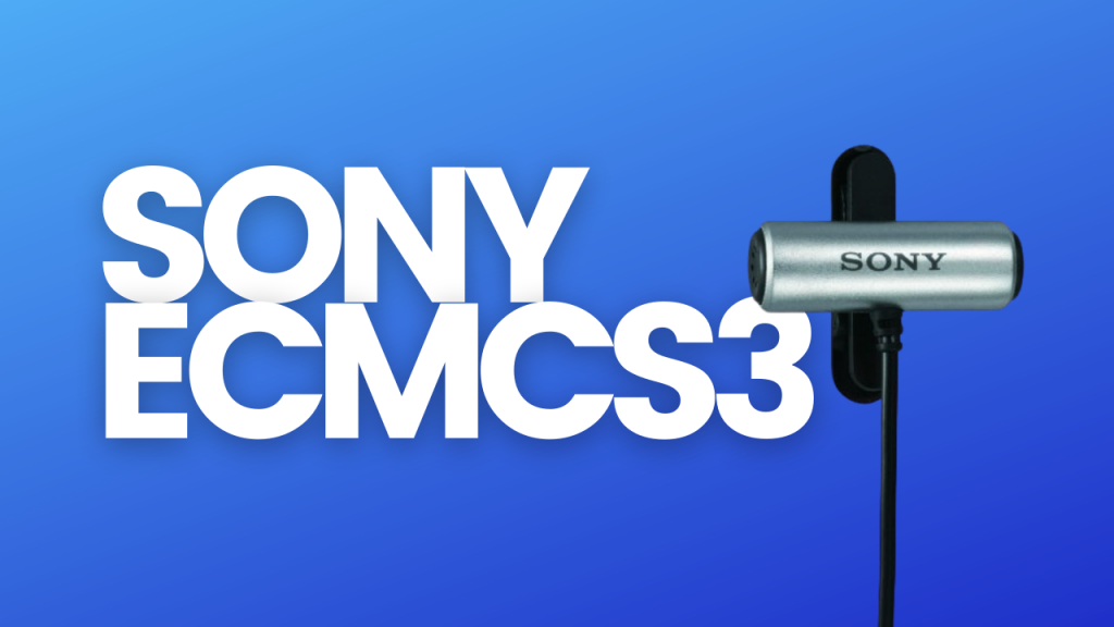 sony collar mic for youtube